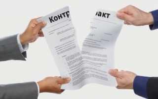 Односторонний отказ от исполнения контракта 44 фз