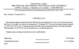 Справка о неполучении единовременного пособия при рождении ребенка в россии в 2020 году