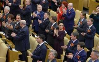 Статья 97 конституции российской федерации