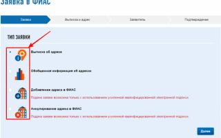 Вход в фиас на официальном сайте fias.nalog.ru