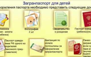 Процедура оформления загранпаспорта