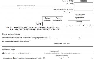 Унифицированная форма торг-12 — бланк и образец