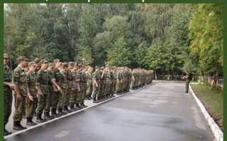 Начало и окончание военной службы